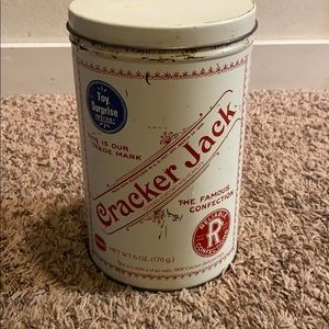 Vintage Cracker Jack tin